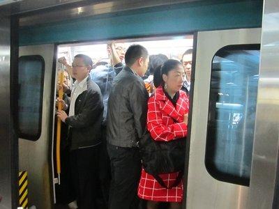 sardines on the beijing subway