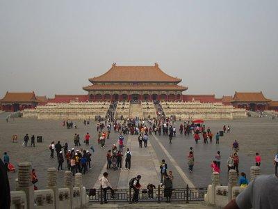 forbidden city...not so forbidden anymore