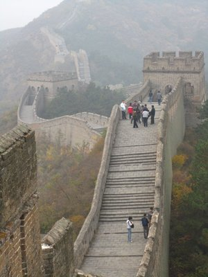 the great wall at last!