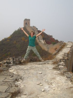 i conquered the great wall!