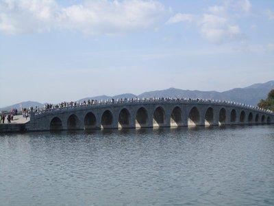 bridge at the summer palace