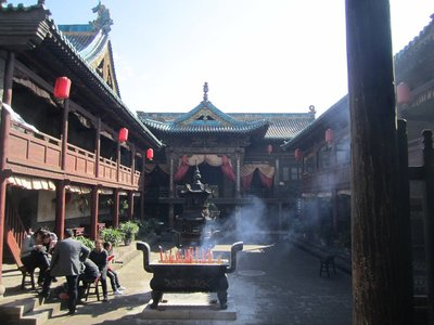 temples with incense