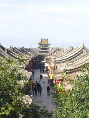 pingyao from city wall