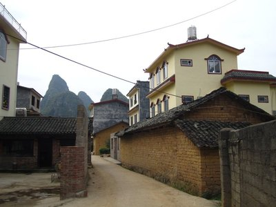 lost in some village...