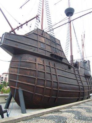 Maritime Museum in an old Portuguese ship replica