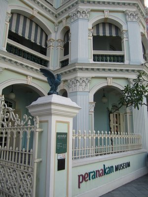 Peranakan Museum is in a very pretty building