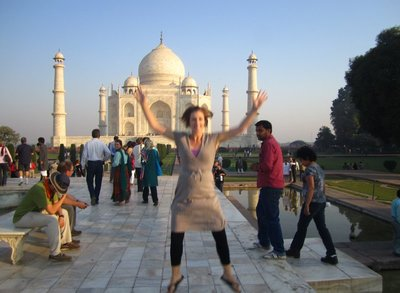 Now I've conquered the Taj Mahal!
