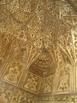 Details of part of inside of Agra Fort