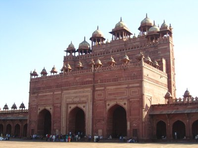 Fatehpur Sikri, the religious side.