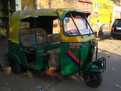 Auto rickshaws in Agra