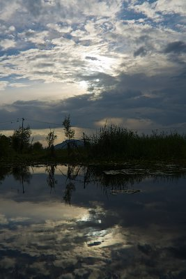 Dal Lake and Sky