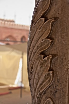 Decoration at Jama Masjid