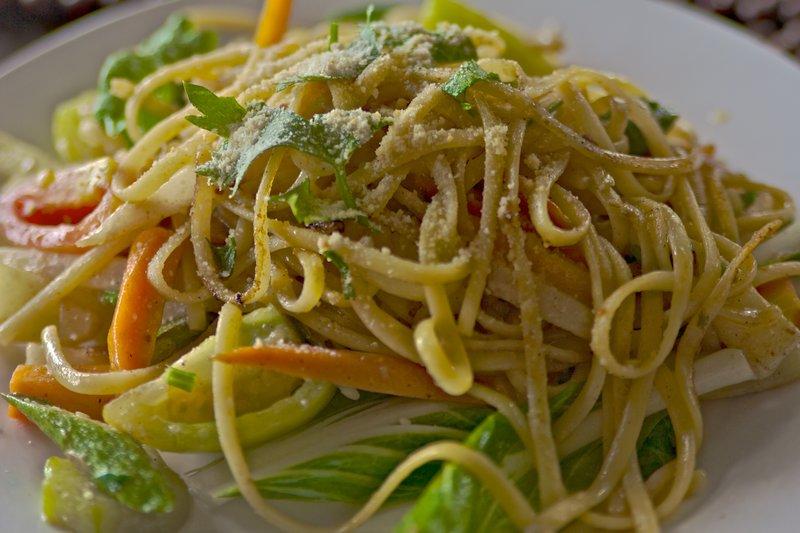 Bohol Bee Farm's Organic Vegetarian Pasta