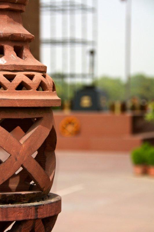 Lantern at India Gate