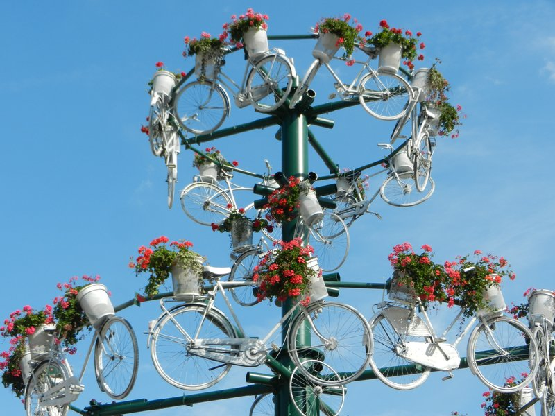 Kaunas bicycle art