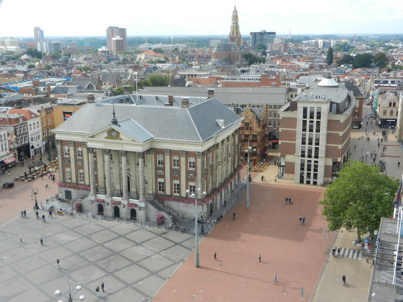 Grote Markt Groningen - View from the Martini Tower
