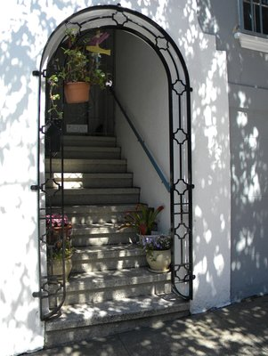 Entrance to a house in San Francisco