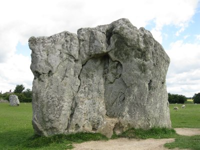 Huge stone at Avebury