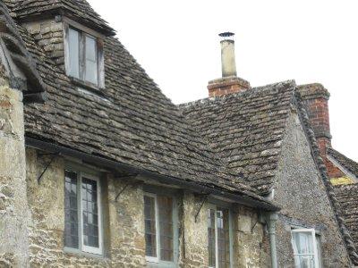 Slate roof Lacock village