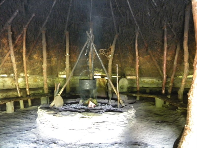 Iron Age Fort Castell Henllys