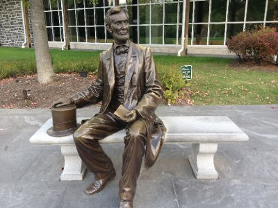 Mr. Lincoln himself.
