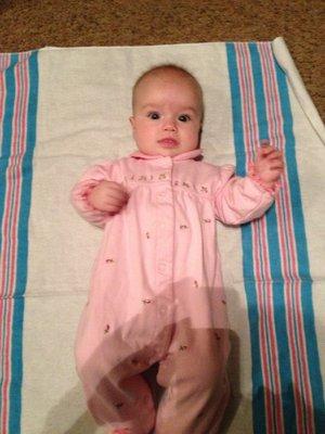 Callie at 4 months
