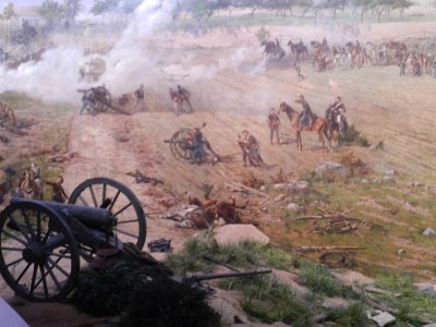 Cyclorama of Pickett's Charge.