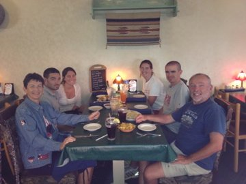Dinner at Casa Too Mucha
