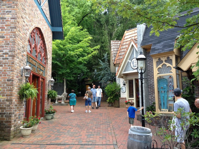Courtyard in Gatlinburg