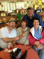Jim, Deb, Don and Jeanne at lunch.