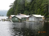 Old floating houses