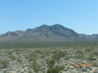Mountains of Mohave Desert