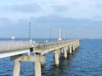 fishing bridge at tunnel