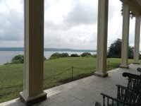 View of Potomac from porch