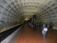 Metro station tunnel