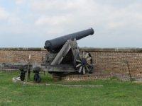 Guns facing Virginia shore