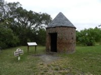 Oldest building in SC (smokehouse)