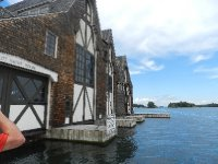 The boathouse of G. Boldt
