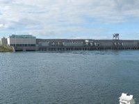 Power dam in Massena