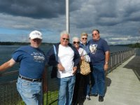 The gang at FDR Power Dam