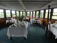 The dining area of the Ticonderoga Steamship
