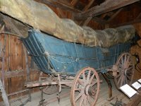 Mrs Webb even had a Conestoga wagon.
