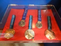 Bodie Miller's Olympic medals
