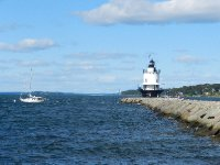 Spring Point Lighthouse in Portland Harbor