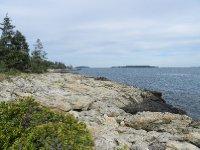 Typical Maine seashore scene.