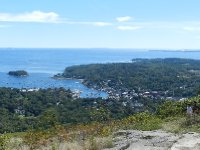 Clear day on top of Mt. Battie