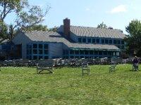 Jordan Pond House for lunch.
