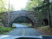 One of 17 stone bridges built by Rockefellers.