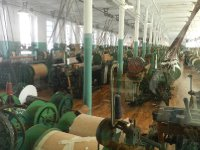 A typical loom room.