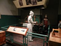 model of young loom worker.